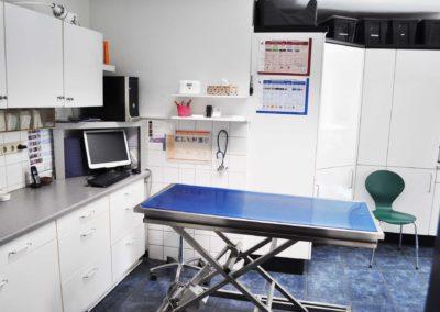 Behandlungsraum Kleintierpraxis Dr. Budde